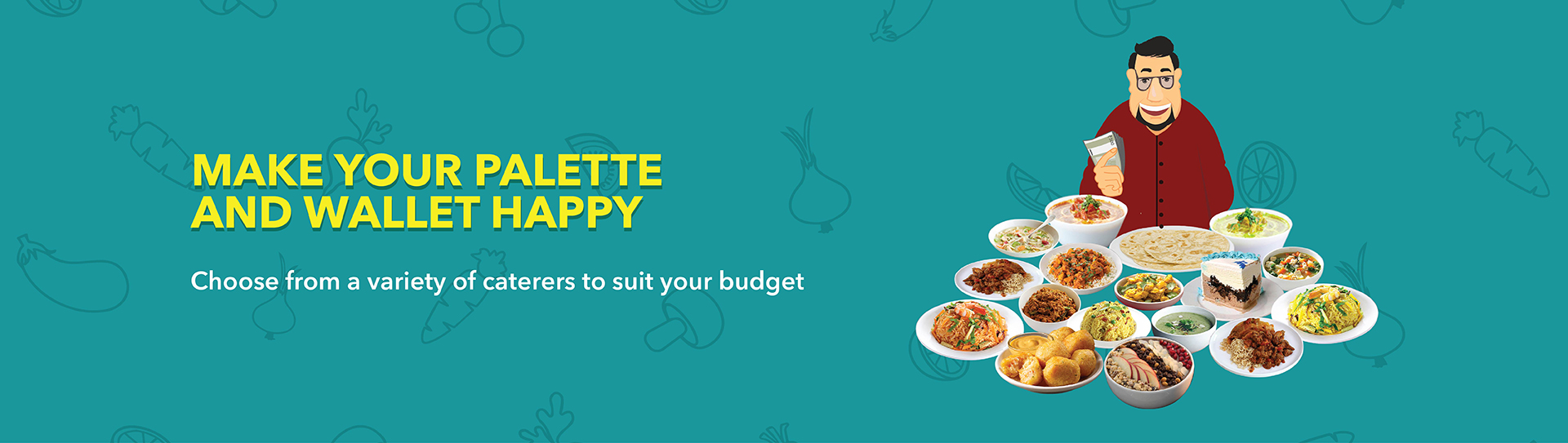OMLY Online catering services , find caterers